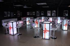 Light Up Furniture Rentals In CT MA RI NY