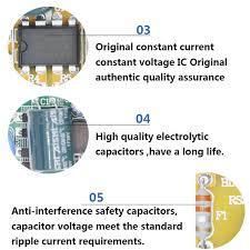 Светодиодный драйвер 3X3W 3X4W <b>10W</b> 12W DC12-<b>24V</b> для ...