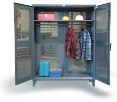 Strong Hold Cabinets Strong Hold Products Industrial Uniform Cabinet With Full Width