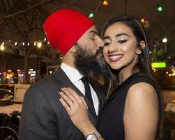She is well identified as the spouse of jagmeet singh (canadian lawyer and politician). Federal Ndp Leader Jagmeet Singh Pops The Question And Gurkiran Kaur Sidhu Says Yes The Star