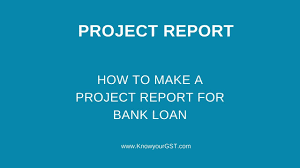 Loan Format In Excel How To Make A Project Report For Bank Loan Project Report Format In