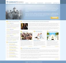 Free Church Website Templates Enchanting Free Church Website Template Templates Perfect