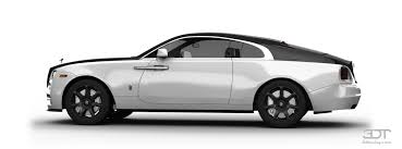 rolls royce wraith white and black. rolls royce wraith coupe 2114 tuning white and black