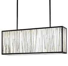 New Rectangular Shade Pendant Light Abbey Fixture Lighting  White Chandelier