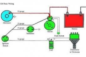 one wire alternator diagram wiring diagram One Wire Alternator Conversion at One Wire Alternator Diagram Schematics