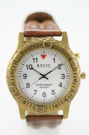 Relic Watch Battery Chart Mens Vintage Regent Water Resistant Watch W New Battery