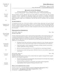 Cover Letter Resume Examples For Cooks Free Resume Examples For