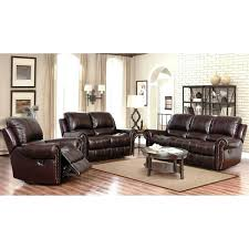 abbyson living sofa bliss leather and loveseat set