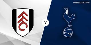 Watch fulham vs tottenham hotspur live stream, watch live sports streams online on your pc and mobile, watch. Tottenham Vs Fulham Prediction And Betting Tips Mrfixitstips