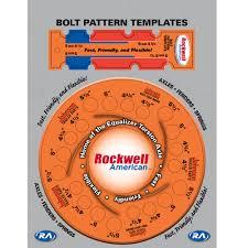 30 Bright Wheel Bolt Pattern Template Printable