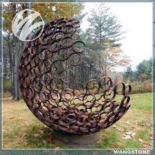 garden metal art architecture steel garden art large metal tree leave sculpture large within large garden metal art