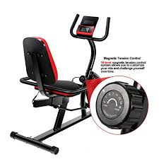 Vanswe <b>Recumbent Exercise</b> Bike 16 Levels- Buy Online in ...