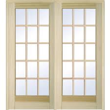 MMI Door 61.5 in. x 81.75 in. Classic Clear Glass Full Lite ...