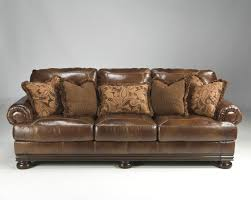 Furniture Magnificent Excentric Ashley Furniture Leather Sofa For
