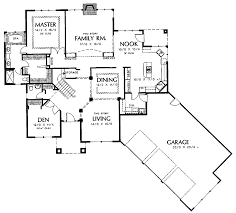 Floor Plans Aflfpw01414 2 Story New American Home With 3 Angled Floor Plans With Garage