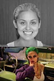 before and after joker squad makeup by christen dominique i seriously questioned my