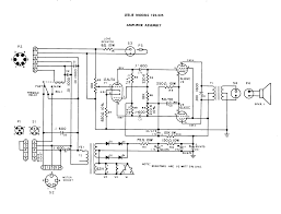 rewiring a leslie 125 amp into what diyaudio here s the schematic of the amp hammondb3organ net schema ie 125 125 gif