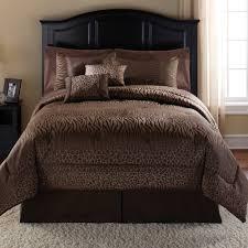 queen size bed mainstays safari 7 piece bedding