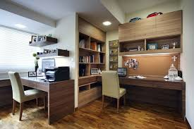 home office study design ideas. Study Design Ideas Home Office Wood Grain Modern With Recessed Lights R