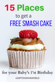 15 Places To Get A Free Smash Cake For Your Babys First Birthday