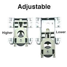 hardware for sliding closet door sliding closet door rollers popular of sliding closet door replacement hardware