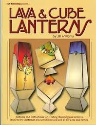 Stained Glass Pattern Books Mesmerizing Lava Cube Lanterns Stained Glass Pattern Book Books Lights
