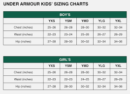 Under Armor Size Chart