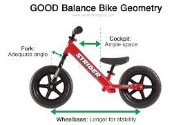 bikes with longer wheelbases are generally more stable and easier to balance