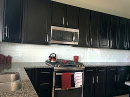 backsplash for dark cabinets kitchen
