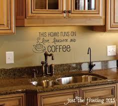decorating coffee ation kitchen backsplash decor above the sink coffee wall decor kitchen