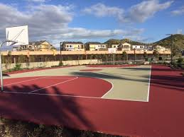<b>Beautiful</b> new <b>basketball</b> court we <b>just</b> constructed. Gorgeous color ...
