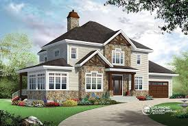 4 bedroom traditional house plan with