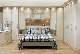 bedroom with storage. Built In Wardrobe, Closet, Or Storage Around The Bed. Small Bedroom - Light With