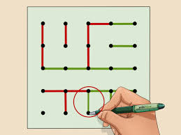 Connect the dots is a simple yet addictive puzzle game.connect matching colors with pipes. How To Play Dots And Boxes 15 Steps With Pictures Wikihow