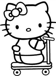 Klik Hier Om De Hello Kitty Kleurplaat Te Downloaden Hello Kitty