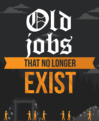unusual old jobs that no longer exist finance slideshow preview image