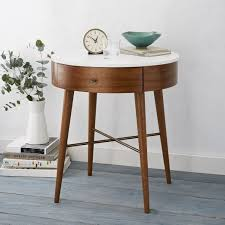 141 best bedside tables images on round nightstand with drawer
