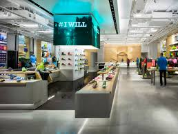 Storeage creates Under Armours first European OUTLET store in Madrid store  design | Under Armour | Pinterest | Armours, Retail and Store design