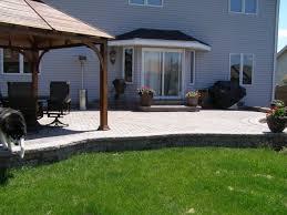 flagstone patio shapes modern patio outdoor