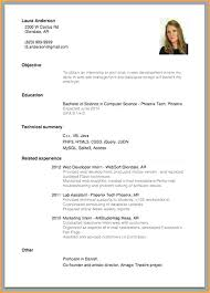How To Create A Curriculum Vitae Impressive Curriculum Vitae Examples For Job Sample Application Alternative