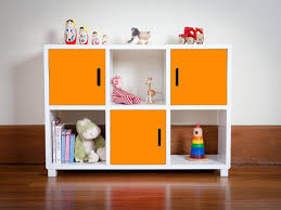 Kids Bedroom Storage Furniture Mocka 6 Cube Storage Unit Storage Solution