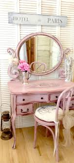 today s reader feature was submitted by rose who shared her hand painted antique vanity