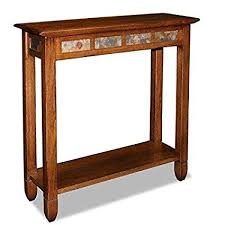 narrow sofa table. ModHaus Living Modern Rustic Oak Narrow Sofa Table Console Hall Stand Rectangle Wooden Brown Finish With W