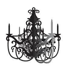 hanging decoration party in paris chandelier 16x16 5