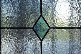 Glass Window Stained Glass Texture Transparency Stock Photo
