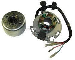compare prices on pit bike magneto online shopping buy low price lifan 150cc 8 coil stator and magneto housing for horizontal motor racing stator rotor