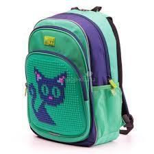 <b>Рюкзак</b> детский <b>4all KIDS</b> Синий кот Темно-синий/ Зеленый + ...