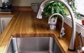 construction styles for wood countertops