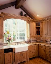 Country Kitchen International A Large Country Kitchen With Knotty Alder Cabinetscabinets Have