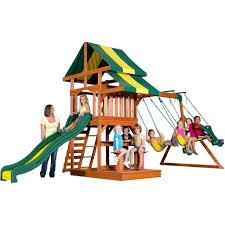 backyard discovery tucson cedar wooden swing set accessories winsome backyard discovery saratoga